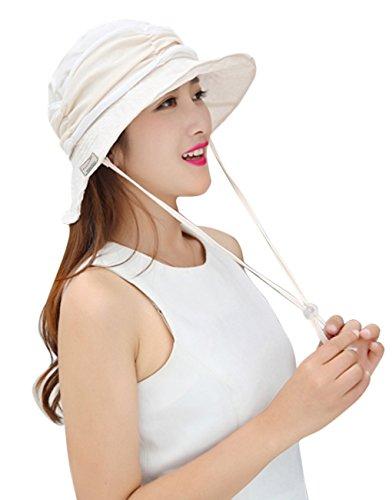 360-gradi-2-in-1-anti-uv-protezione-solare-pieghevole-tesa-larga-rimovibile-velo-cappelli-di-sun-cap