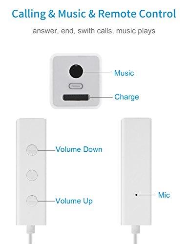 41CMxTgNyTL - [Amazon.de] IQIYI Lightning Adapter auf Klinke und Lightning mit Kopfhörersteuerung für 18,84€ statt 28,99€