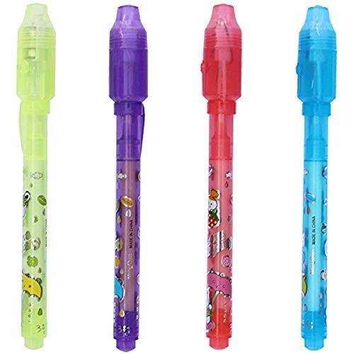 Unsichtbarer Tintenstift mit UV-Licht Verschwindender Geheimnachrichtenstift Spy Pen Fun Kinderspielzeug