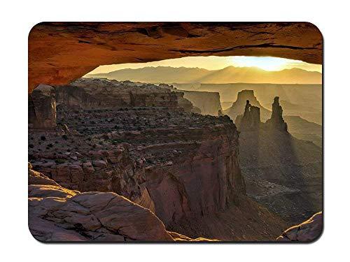 BGLKCS Mesa Arch Canyonlands National Park - Customized Rectangle Non-Slip Rubber Mousepad Gaming Mauspads