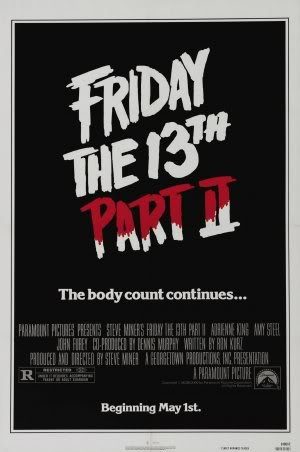 2 II - Movie Wall Art Poster Print - 43cm x 61cm / 17 Inches x 24 Inches A2 Jason Voorhees ()