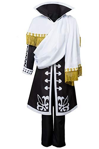 ason 5 Zeref Dragneel Emperor Outfit Cosplay Kostüm Herren ()
