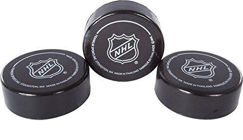 franklin-sports-nhl-soft-sponge-foam-mini-knee-hockey-pucks-3-pieces-durable-new