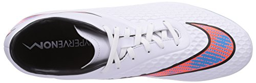 Nike Hypervenom Phelon Fg, Football Compétition Homme Bianco (White (White/Blue Lagoon/Total Crimson/Black))