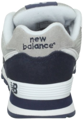 New Balance Kl574nwp-574, Sneakers Hautes Mixte Enfant Multicolore (Navy/White 414)