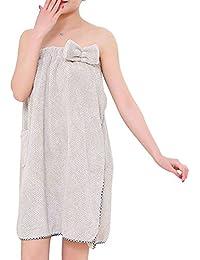 IBLUELOVER Toalla de Baño Mujer Dulce - Toalla de Baño Secado Rápido Albornoz de Baño Toalla