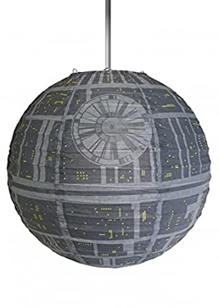 star wars lampe suspension episode 4 papier toile de la mort luminaires et. Black Bedroom Furniture Sets. Home Design Ideas