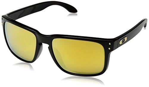 Oakley Herren 0OO9102 Sonnenbrille, Blau (Polished Black), 57