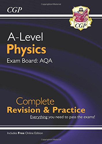 New A-Level Physics for 2018: AQA Year 1 & 2 Complete Revision & Practice with Online Edition por CGP Books