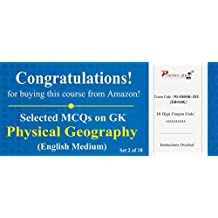 Practice Guru Selected MCQs on GK - Physical Geography Set 2 of 18 (Email Delivery in 2 Hours) (Activation Key Card)