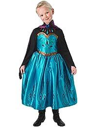 NICE SPORT Robes Enfant Princesse ELSA La Reine des Neiges Cosplay Costume Déguisement Cadeau Anniversaire/Noël/Carnaval/Halloween