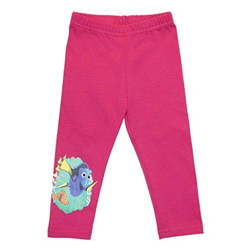 Findet Dorie Mädchen Thermo-Leggings GEFÜTTERT lang, Sport-Hose in GRÖSSE 98, 104, 110, 116, 122, 128 warme Hose in pink, super weich und Kuschelig Farbe Pink, Größe 98