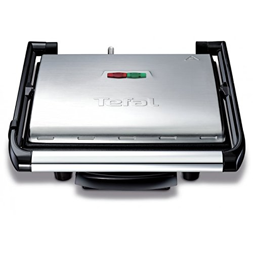Tischgrill Tefal GC241D38 - BBQgrill   Tischgrill   ELEKTRO GRILL   Partygrill   elektrischer Grill   Kontaktgrill   BBQ Elektrogrill   Panini grill   Panini maker   2000 W.   Cool Touch Griffe