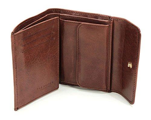 The Bridge Story Uomo Porte-monnaie cuir 10 cm rosso ribes Braun