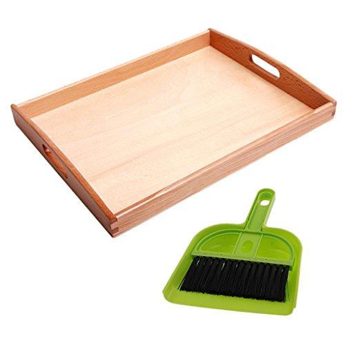 Materiales Montessori Herramientas De Suelo Barrido Niños Preschool
