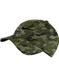 c43329e137f NIKE Unisex Arobill H86 Adjustable Twill Hat Neutral Olive CAMO Black  729507-209