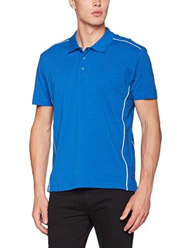 CliQue Herren Poloshirt New Conway Polo Shirt Blau (Königsblau)