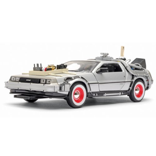 Back to the Future 3 DeLorean Time Machine Die-Cast Vehicle by Welly