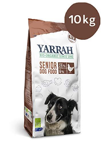 Yarrah Bio Hundefutter Fisch und Huhn für Senior Hunde, 1er Pack (1 x 10 kg)
