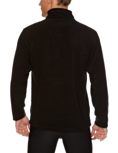 Regatta Thompson, Herren-Sweatshirt aus Fleece Schwarz - Schwarz