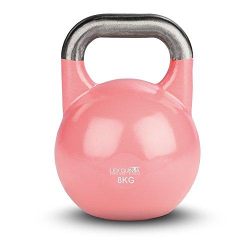Lex Quinta Competition Kettlebell - die Wettkampf Kugelhantel - 8kg pink