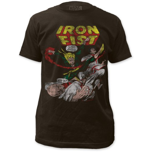 Marvel Comics - Mens Iron Fist Fitted T-Shirt