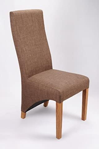 Shankar Baxter Cinnamon Linen Style Chair