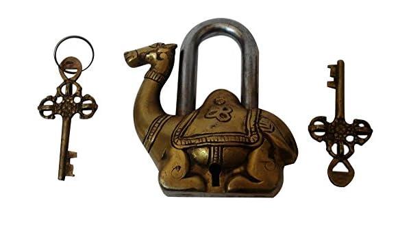 Brass Blessing VZX361 Camel Type Padlock