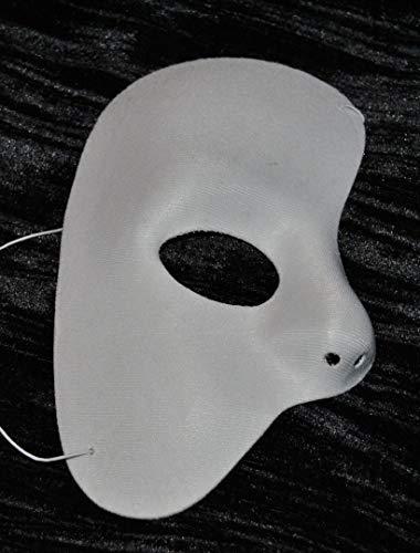 Phantom of the Opera MASQUARADE MASK BLANC Half Mask