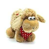 topspirit Plush Toy Sheep - Soft Toy Sheep brown 18 cm