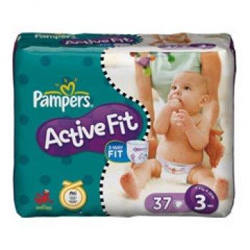 Pampers Active Fit Gr.3, 37er/Pack