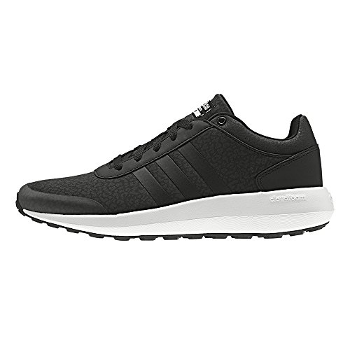 Adidas Cloudfoam Race W, Chaussures De Sport Unisexe - Noir Adulte (negbas / Ftwbla)