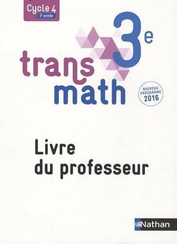 Transmath 3e : Livre du professeur