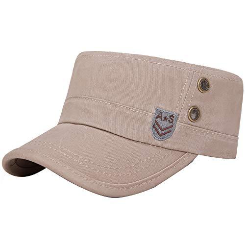 LCLrute Baseballmütze-Mode-Hüte für Männer Casquette Polo für Wahl-im Freien Golf-Sonnenhut (Khaki)