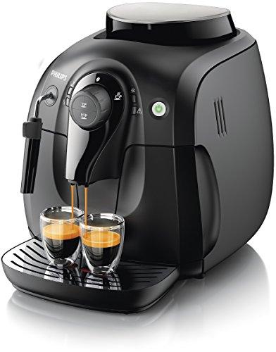 Philips Serie 2000 Cafetera HD8651/01 - Máquina de café espresso automática con espumador de leche clásico (pannarello)