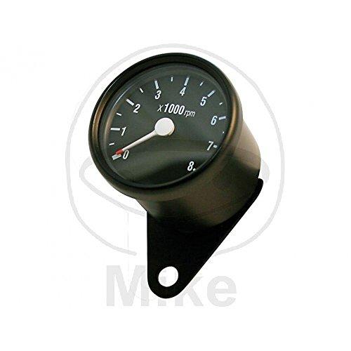 Instrumente Drehzahlmesser D=60 mm, schwarz, 8.000 U/min.