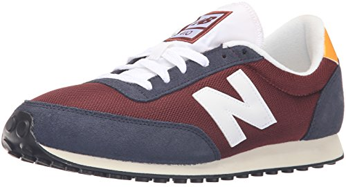 New Balance 410, Chaussures de Running Entrainement Mixte Adulte Multicolore (Burgundy 512)