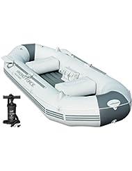 Bestway Barca hinchable Marine Pro con bomba para inflar y remos,291cm