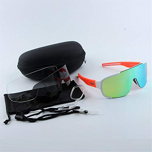 ANSKT Bicycle eyewear riding glasses sports glasses sunglasses tr90 sunglasses men and women bicycle glasses UV400@1