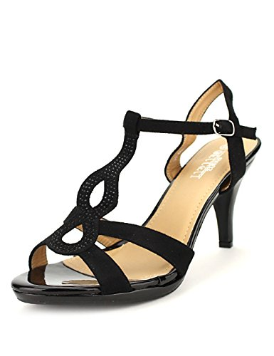 Cendriyon Sandale BELLELI Noire Mode Chaussures Femme Noir