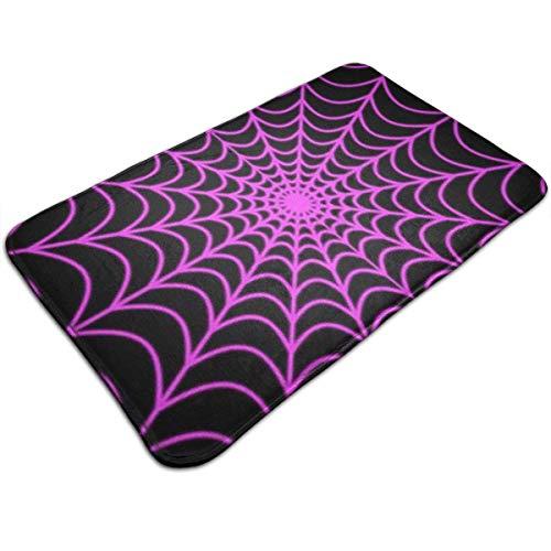 Halloween Spider Web Welcome Mats Entrance Mat Floor Mat Door Mat Rug Indoor/Outdoor/Front Door/Bathroom/Kitchen/Hotel Carpet 19.7 X 31.5 Inches (Halloween Dog Spider)