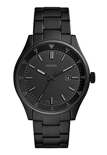 Fossil Herren Analog Quarz Uhr mit Edelstahl Armband FS5531 (Uhren Oro Männer)
