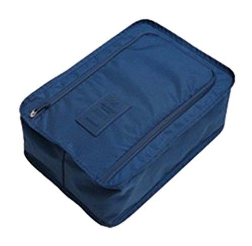Pochette de étanche Finition Chaussures de sport Admission Package, bleu foncé