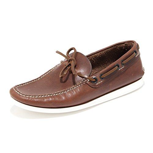 76645 mocassino CAR SHOE PULL UP 1 VINTAGE scarpa uomo loafer shoes men Marrone