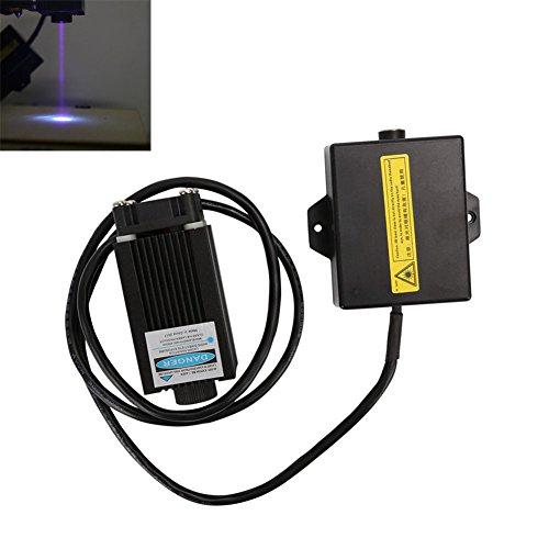 ZREAL Juego de cabezales para grabado a luz azul Violetta 12V con madera para CR-10cr-10s accesorios para impresoras 3d