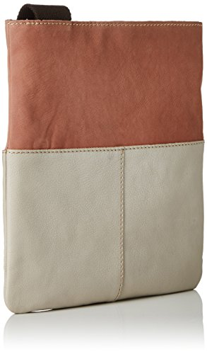 FLY London - BINE576FLY, Borsa a tracolla Donna ROSE/OFFWHITE/CONCRETE