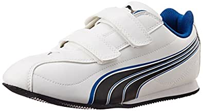 Puma Men's WIRKO II VS DP White and Blue Aster Sneakers - 11 UK /India(46EU)