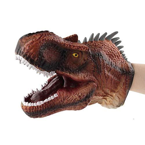 KOBWA - Tiranosauro Goma Suave Cachorros Mano diseño
