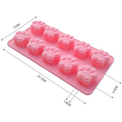 Yokirin? stampo in silicone accessorio fondente decorazione della torta stampi per il cioccolato, stampi zucchero torte, stampi di sapone (orso form)