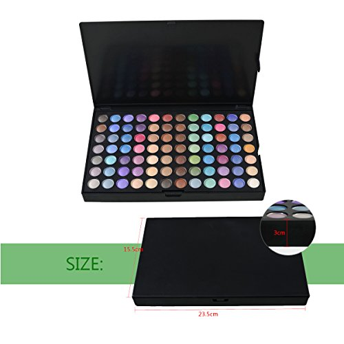 Netspower Eye Shadow Makeup Palette,252 Color Eyeshadow Palette Eye Shadow Makeup Kit Set Make Up Professional Box